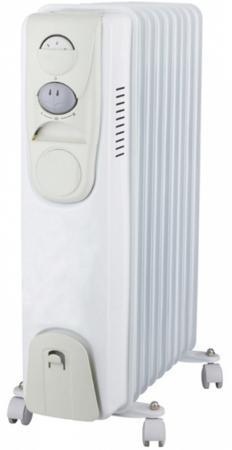 Масляный радиатор Oasis BS-10 1000 Вт белый