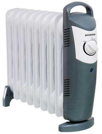 Масляный радиатор Hyundai H-HO1-09-UI889 1000 Вт белый цена и фото