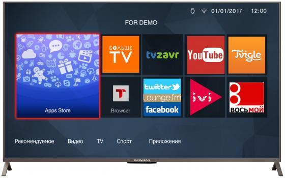 Телевизор 49 Thomson T49D23SFS-01S черный 1920x1080 Wi-Fi Smart TV RJ-45