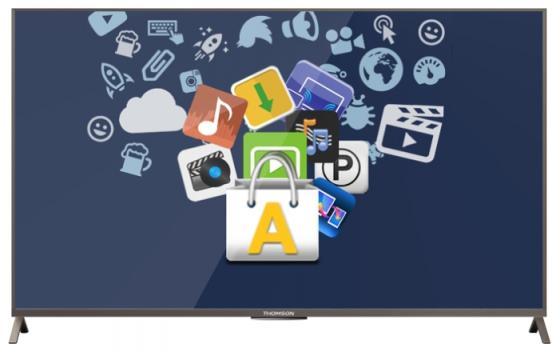 Телевизор 55 Thomson T55D23SFS-01S черный 1920x1080 Wi-Fi Smart TV RJ-45 55