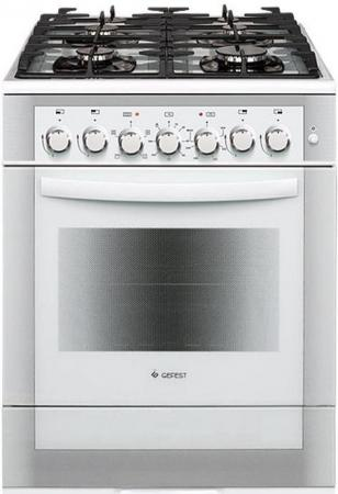 Комбинированная плита Gefest 6502-02 0042 белый gefest 6502 02 0044