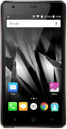 Смартфон Micromax Q462 Canvas 5 lite коричневый 5 16 Гб LTE Wi-Fi GPS 3G смартфон micromax q346 lite grey 4 5 854x480 fm радио bluetooth wi fi 3g android 5 1 1700 ма ч