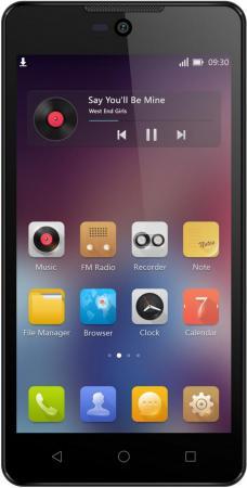 Смартфон Micromax Q340 красный 5 8 Гб Wi-Fi GPS 3G смартфон micromax q338 черный 5 8 гб wi fi gps 3g