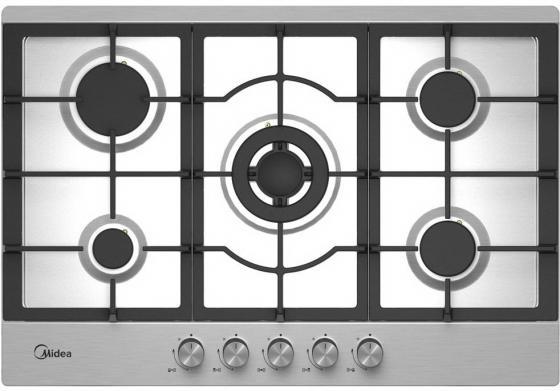 Варочная панель газовая Midea Q751SFD SS серебристый