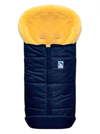 Конверт из овчины Heitmann Felle 975 Premium Lambskin Cosy Toes (синий) зимний конверт altabebe lambskin bugaboo footmuff mt2280 lp black 65