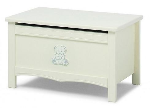 Ящик для игрушек Erbesi Incanto (белый) ящик для игрушек с крышкой erbesi incanto мдф слоновая кость