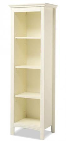 Книжный шкаф Erbesi Incanto (слоновая кость) ящик для игрушек с крышкой erbesi incanto мдф слоновая кость