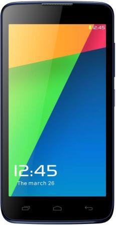 Смартфон Micromax Q383 синий 5 4 Гб Wi-Fi GPS 3G смартфон micromax q397 champagne 5 5 8 гб wi fi gps 3g