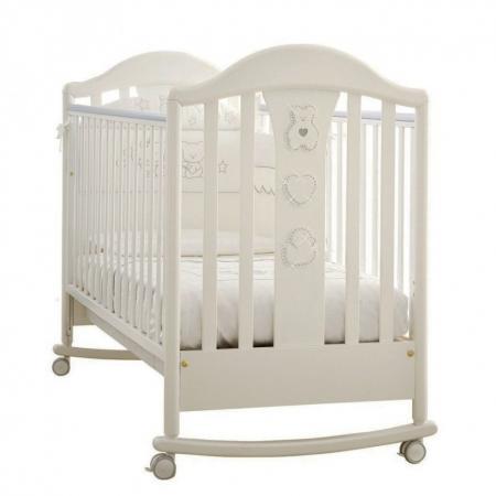 Кроватка -качалка Pali Prestige Classic (белый) детские кроватки pali classic prestige