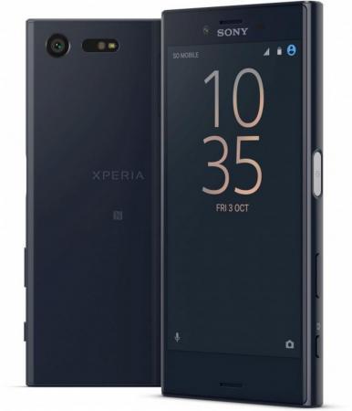 Смартфон SONY Xperia X Compact черный 4.6 32 Гб NFC LTE GPS Wi-Fi 3G F5321 смартфон asus zenfone live zb501kl золотистый 5 32 гб lte wi fi gps 3g 90ak0072 m00140