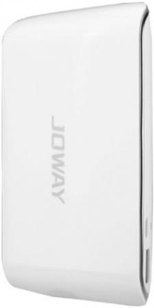 Фото - Внешний аккумулятор Joway JP29 6000 mAh белый внешний аккумулятор для портативных устройств hiper circle 500 blue circle500blue