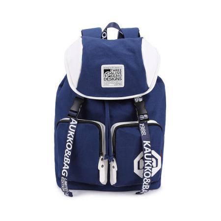 Рюкзак Универсальная KAUKKO FP84 брезент синий kaukko fj18 vintage canvas backpack shoulder bag