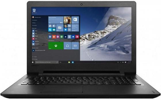 Ноутбук Lenovo IdeaPad 110 15.6 1366x768 Intel Celeron-N3060 250 Gb 2Gb Wi-Fi Intel HD Graphics 400 черный Windows 10 80T70040RK ноутбук asus f553sa xx305t 15 6 1366x768 intel celeron n3050 500gb 2gb intel hd graphics черный windows 10 home 90nb0ac1 m06000