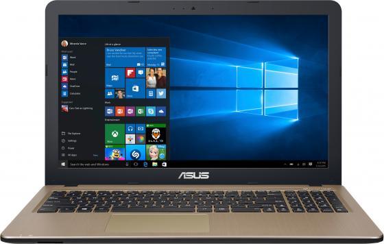 Ноутбук ASUS X540YA-XO047T 15.6 1366x768 AMD E-E1-7010 500 Gb 2Gb AMD Radeon R2 коричневый Windows 10 Home 90NB0CN1-M00670 ноутбук acer aspire es1 523 294d 15 6 1366x768 amd e e1 7010 500 gb 4gb amd radeon r2 черный windows 10 home nx gkyer 013