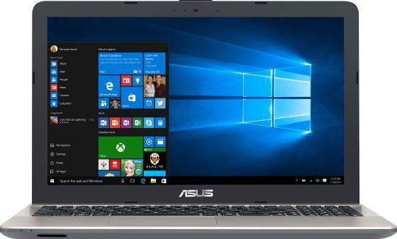 Ноутбук ASUS A541UV-XO268T 15.6 1366x768 Intel Core i7-6500U 500 Gb 4Gb nVidia GeForce GT 920MX 2048 Мб черный Windows 10 90NB0CG1-M03170 ноутбук lenovo ideapad 320 15iskk 15 6 1920x1080 intel core i3 6006u 500 gb 4gb nvidia geforce gt 920mx 2048 мб черный windows 10 home 80xh00ktrk