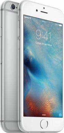 Смартфон Apple iPhone 6S серебристый 4.7 32 Гб Wi-Fi GPS 3G LTE NFC MN0X2RU/A смартфон apple iphone xs max золотистый 6 5 256 гб nfc lte wi fi gps 3g mt552ru a