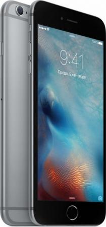 Смартфон Apple iPhone 6S Plus серый 5.5 32 Гб NFC LTE Wi-Fi GPS 3G MN2V2RU/A смартфон apple iphone 6s серебристый 4 7 128 гб nfc lte wi fi gps 3g mkqu2ru a