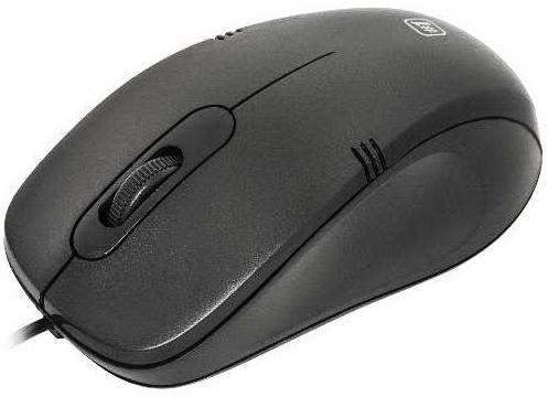 Мышь проводная DEFENDER MM-930 чёрный USB