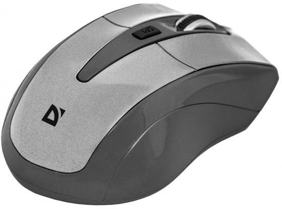 Мышь беспроводная DEFENDER Accura MM-965 белый чёрный USB 52965 беспроводная оптическая мышь defender accura mm 965 голубой 6кнопок 800 1600dpi