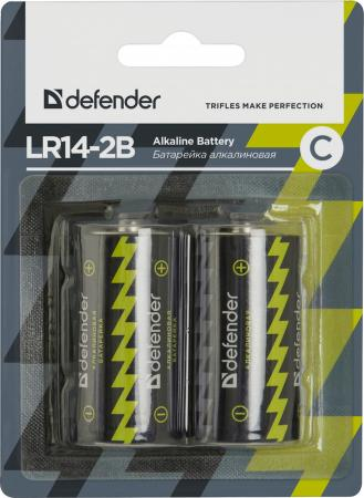Батарейки Defender 56032 C 2 шт микрофон defender mic 142 64142