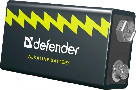 Батарейка Defender 6LR61-1B 56042 1 шт батарейка smartbuy sbba 9v01b 6lr61 1 шт