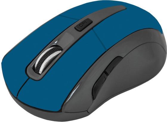 Мышь беспроводная Defender Accura MM-965 синий USB цена и фото