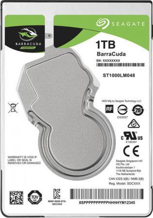 Жесткий диск для ноутбука 2.5 1Tb 5400rpm 128Mb cache Seagate Barracuda SATAIII ST1000LM048 жесткий диск 3 5 8 tb 5400rpm 128mb cache western digital purple sataiii wd80purz