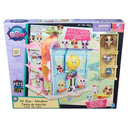 Игровой набор Littlest Pet Shop Littlest Pet Shop Зоомагазин игровые наборы littlest pet shop стильный зоомагазин