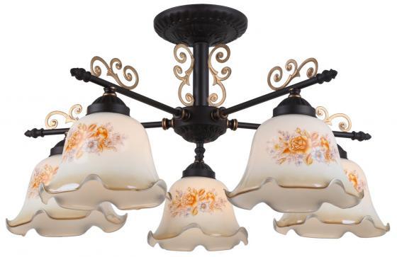 Потолочная люстра Arte Lamp 61 A6582PL-5BR цена и фото