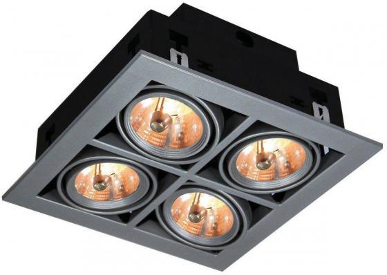 Встраиваемый светильник Arte Lamp Cardani A5930PL-4SI встраиваемый светильник arte lamp cardani a5930pl 4si