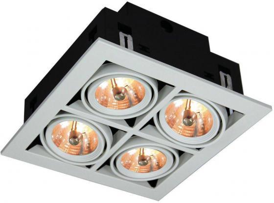 Встраиваемый светильник Arte Lamp Cardani A5930PL-4WH встраиваемый светильник arte lamp cardani a5930pl 4si