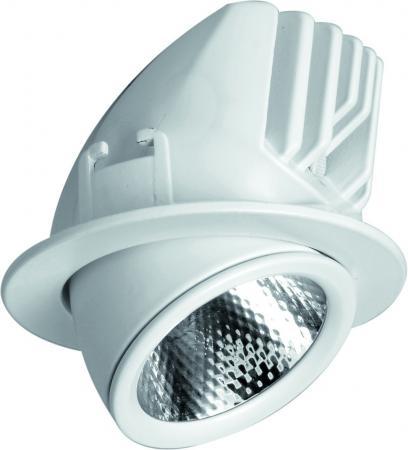 Встраиваемый светодиодный светильник Arte Lamp Cardani A1212PL-1WH встраиваемый светильник arte lamp cardani semplice a5949pl 1wh