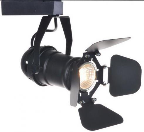 Трековый светильник Arte Lamp Track Lights A5319PL-1BK nowley 8 5319 0 1