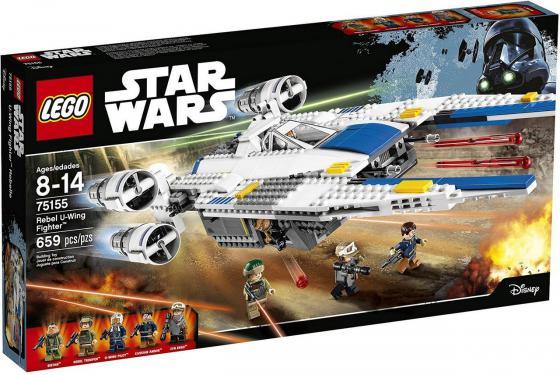 Конструктор Lego Star Wars Истребитель Повстанцев U-Wing 662 элемента 75155