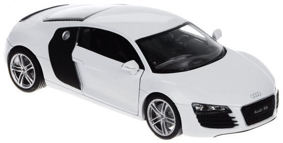 Автомобиль Welly Audi R8 V10 1:24 белый 24065 автомобиль welly audi r8 v10 1 24 красный