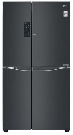 Холодильник Side by Side LG GC-M257UGLB черный холодильник side by side samsung rs552nrua9m
