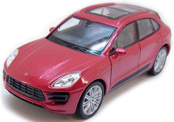 Автомобиль Welly Porsche Macan Turbo 1:34-39 43673 машины welly модель машины 1 24 porsche macan turbo
