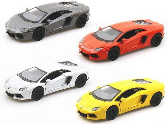 Автомобиль Welly Lamborghini Aventador LP700-4 1:34-39 цвет в ассортименте в ассортименте welly модель автомобиля lamborghini aventador lp700 4 цвет оранжевый