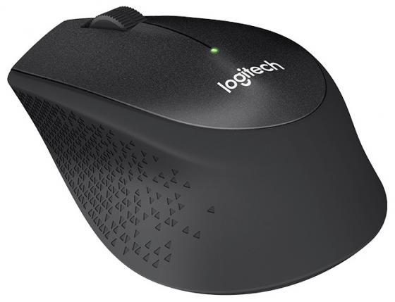 Фото - Мышь беспроводная Logitech M330 Silent Plus чёрный USB 910-004909 мышь logitech b220 silent black беспроводная 910 004881