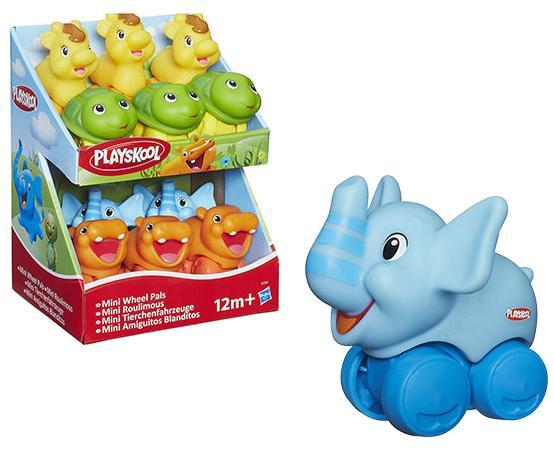 Развивающая игрушка Hasbro Playskool веселые мини-животные (в ассорт.) возьми с собой каталки hasbro каталка веселые мини животные