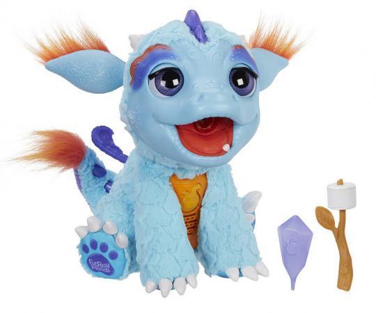 Интерактивная игрушка Hasbro Милый дракоша от 4 лет голубой B5142 оружие игрушечное hasbro hasbro бластер nerf n strike mega rotofury