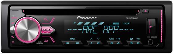 Автомагнитола Pioneer DEH-X2900UI USB MP3 CD FM RDS 1DIN 4x50Вт черный автомагнитола kenwood kmm 103ry usb mp3 fm rds 1din 4х50вт черный