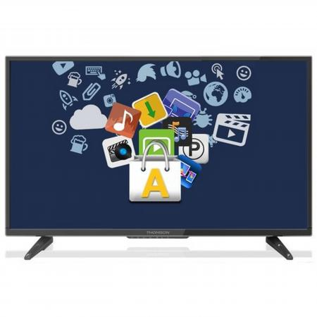 "Телевизор 28"" Thomson T28D19DHS-01B черный 1366x768 50 Гц Wi-Fi Smart TV RJ-45 WiDi"