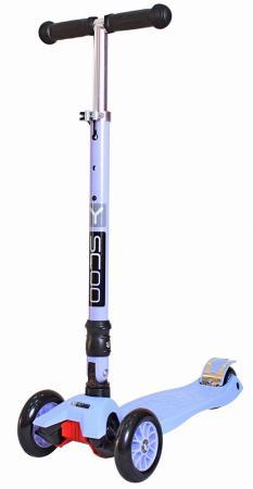 Самокат трехколёсный Y-SCOO 35 MAXI FIX Simple фиолетовый самокат y scoo 35 maxi fix shine со светящимися колесами голубой трехколёсный