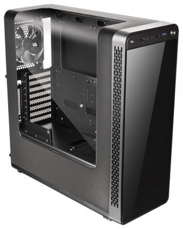 Корпус ATX Thermaltake View 27 Без БП чёрный CA-1G7-00M1WN-00 корпус thermaltake view 27 ca 1g7 00m1wn 00 window черный без бп atx 5x120mm 1xusb2 0 1xusb3 0 audio bott psu