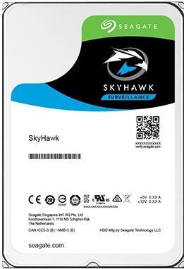 Жесткий диск 3.5 4Tb 5900rpm 64Mb cache Seagate SkyHawk SATAIII ST4000VX007 seagate st4000vx007