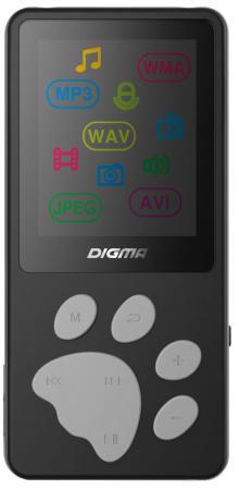 Фото - Плеер Digma S3 4Gb черный/серый digma c2l 4gb красный
