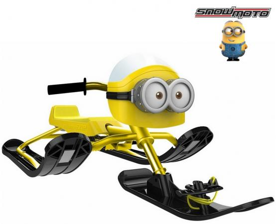 Снегокат Snow Moto MINION Despicable ME до 68 кг пластик металл желтый 37018 despicable me unicorn minion stuffed