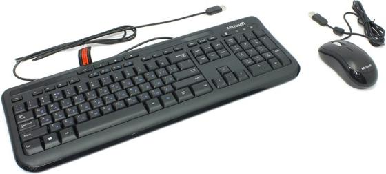 Комплект Microsoft 600 черный USB 3J2-00015
