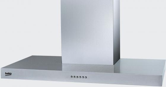 Вытяжка каминная Beko CWB 9550 X серебристый вытяжка каминная hotpoint ariston rhpn 6 4f am x серебристый
